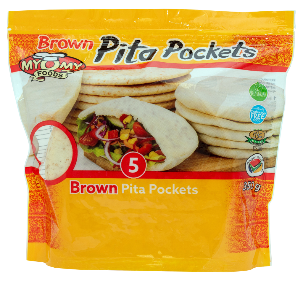 Brown Pita Pockets